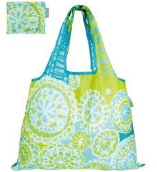 DESIGNERS JAPAN 日本PRAIRIEDOG摺疊購物袋(Popping Flower) ★2way shopping bag