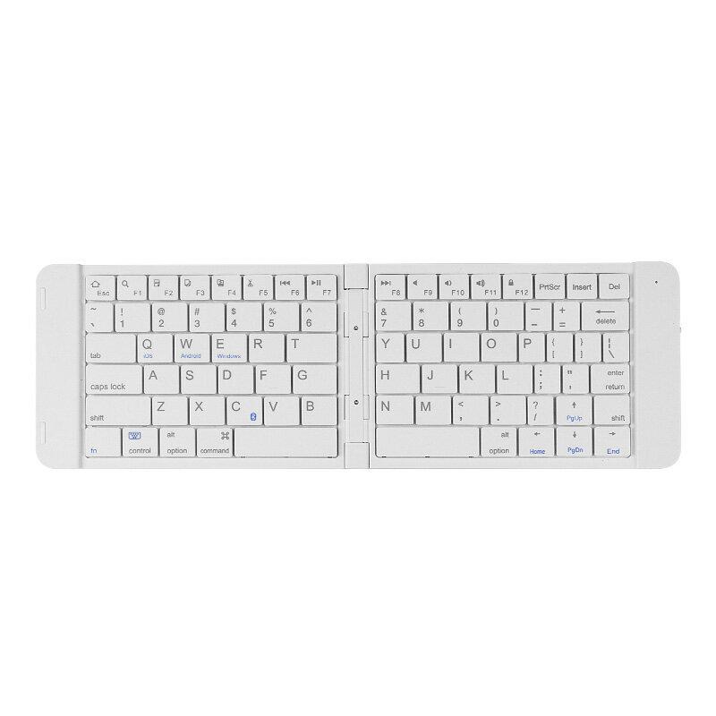 千業折疊無線蓝芽鍵盤蘋果ipad mini4/air2安卓手機平板迷妳鍵盤