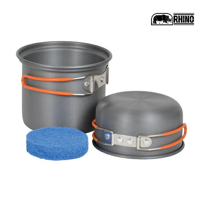 【速捷戶外】RHINO K-1犀牛單人輕便套鍋,登山/露營/環島 個人隨身餐具