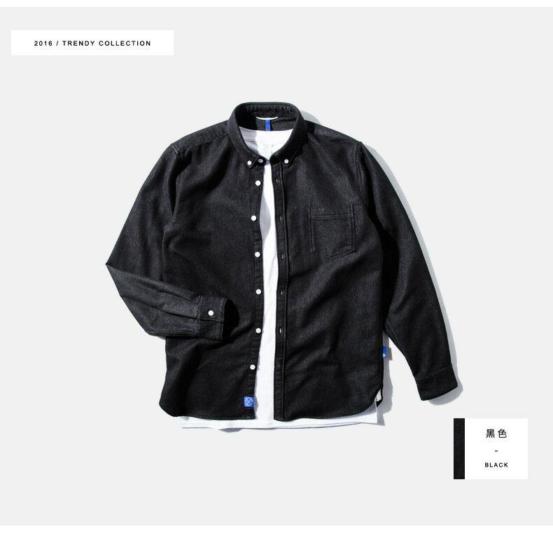 LINAGI里奈子精品【W01299】新品男式襯衫修身日系男式襯衣高級面料男裝 3