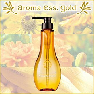 【日本代購-現貨】日本POLA aroma ess.GOLD 天然草本洗髮精 460ml(日本五星級飯店推薦)