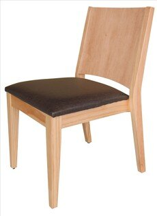 【石川家居】YE-A475-16文森原木亞麻紋皮餐椅(咖啡皮)(單張)(不含餐桌與其他商品)台北到高雄搭配車趟免運
