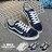 格子舖*【AA366】男款雜誌熱銷穿搭必備 簡單百搭休閒舒適 綁帶布面鞋 帆布鞋 情侶鞋 2色 - 限時優惠好康折扣