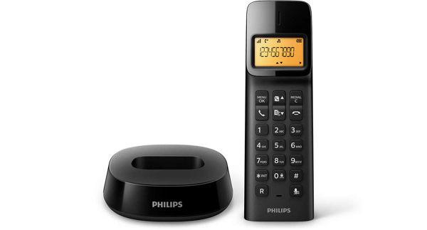 PHILIPS 飛利浦 無線電話 D1401B/D1401