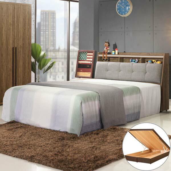 優世代居家生活館:雙人床掀床臥室《YoStyle》格林掀床組-雙人5尺