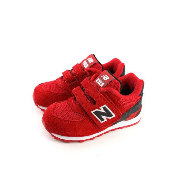 New Balance 574系列 復古鞋 紅色 小童 no191