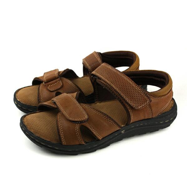 HUMANPEACE涼鞋棕色男鞋FDM031401no115
