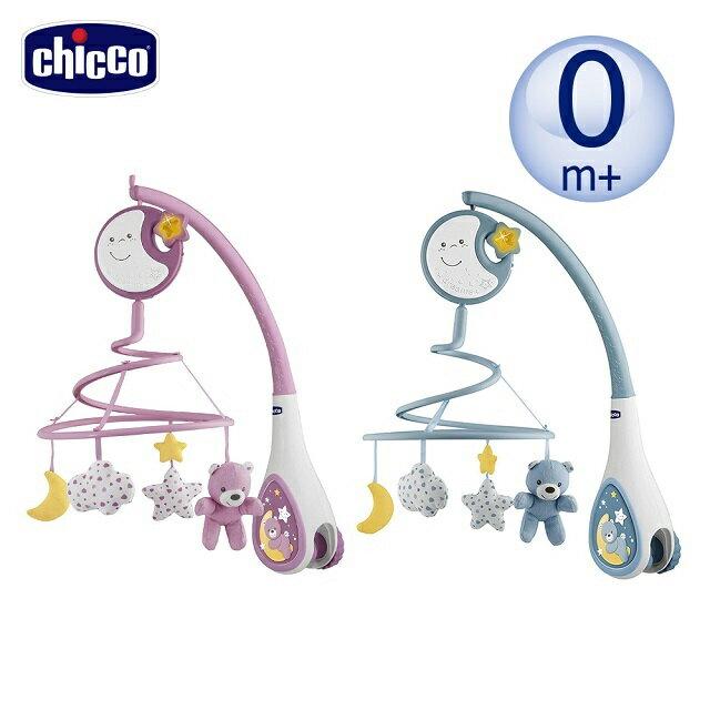《義大利chicco》多功能床頭古典音樂鈴-粉紅 / 粉藍 0