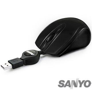 ★綠G能★福利品★SANYO 三洋 SYMS-M12 USB 光學滑鼠
