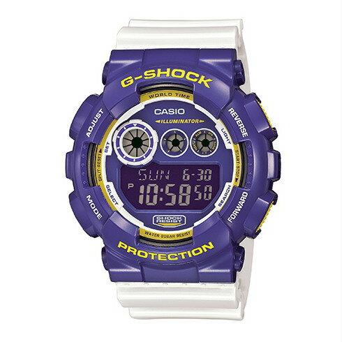 CASIO G-SHOCK GD-120CS-6數位三眼流行腕錶/51mm