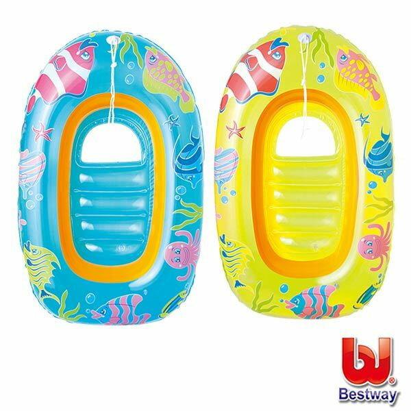 《Bestway》兒童水上充氣小艇(69-30412)-顏色隨機出貨