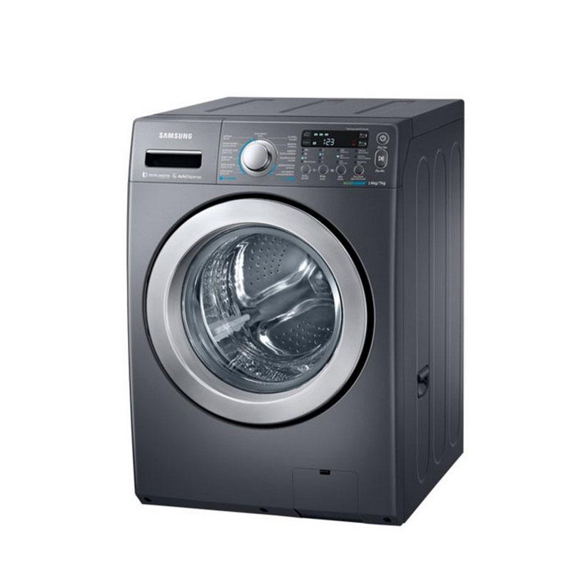SAMSUNG 三星 14kg 噴射水流洗脫烘滾筒洗衣機【WD14F5K5ASG】 1