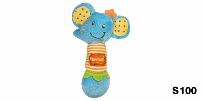 ~晴晴百寶盒~LUCKYBABY布偶搖鈴玩具 新加坡直進 嬰兒用品 寶寶小孩可愛搖鈴玩具
