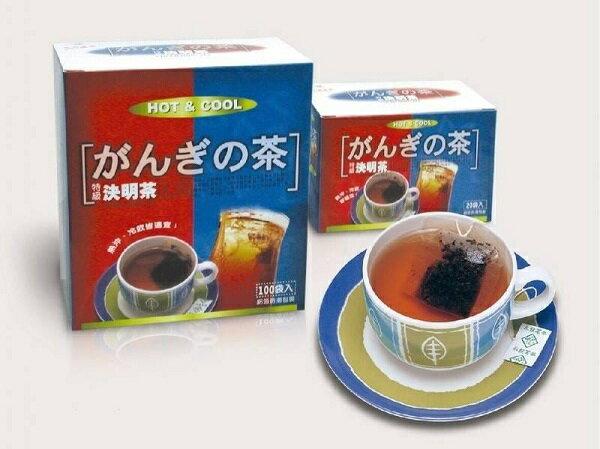 特級決明茶100入/盒