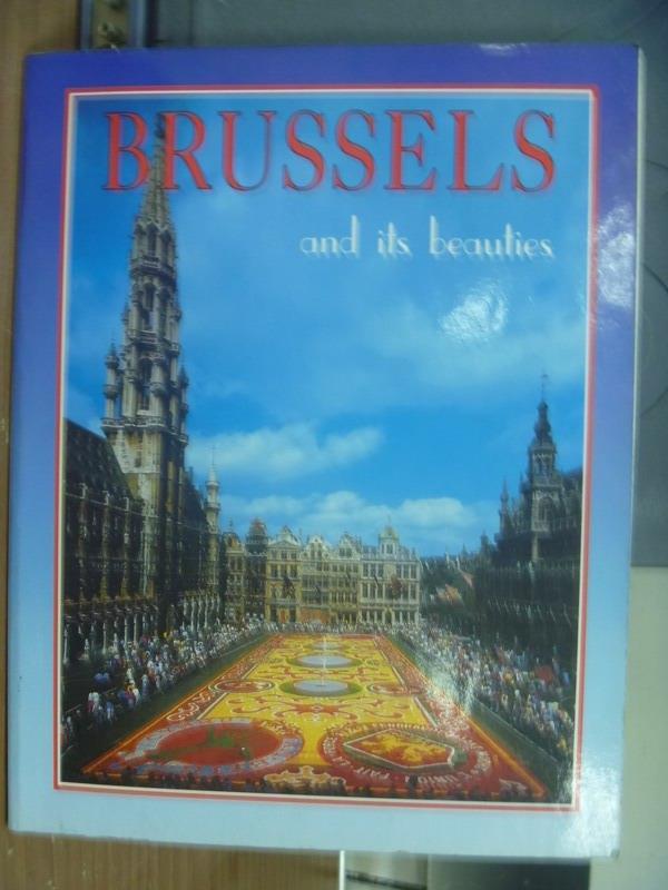 ~書寶 書T6/旅遊_PNX~Brussels and its beauties
