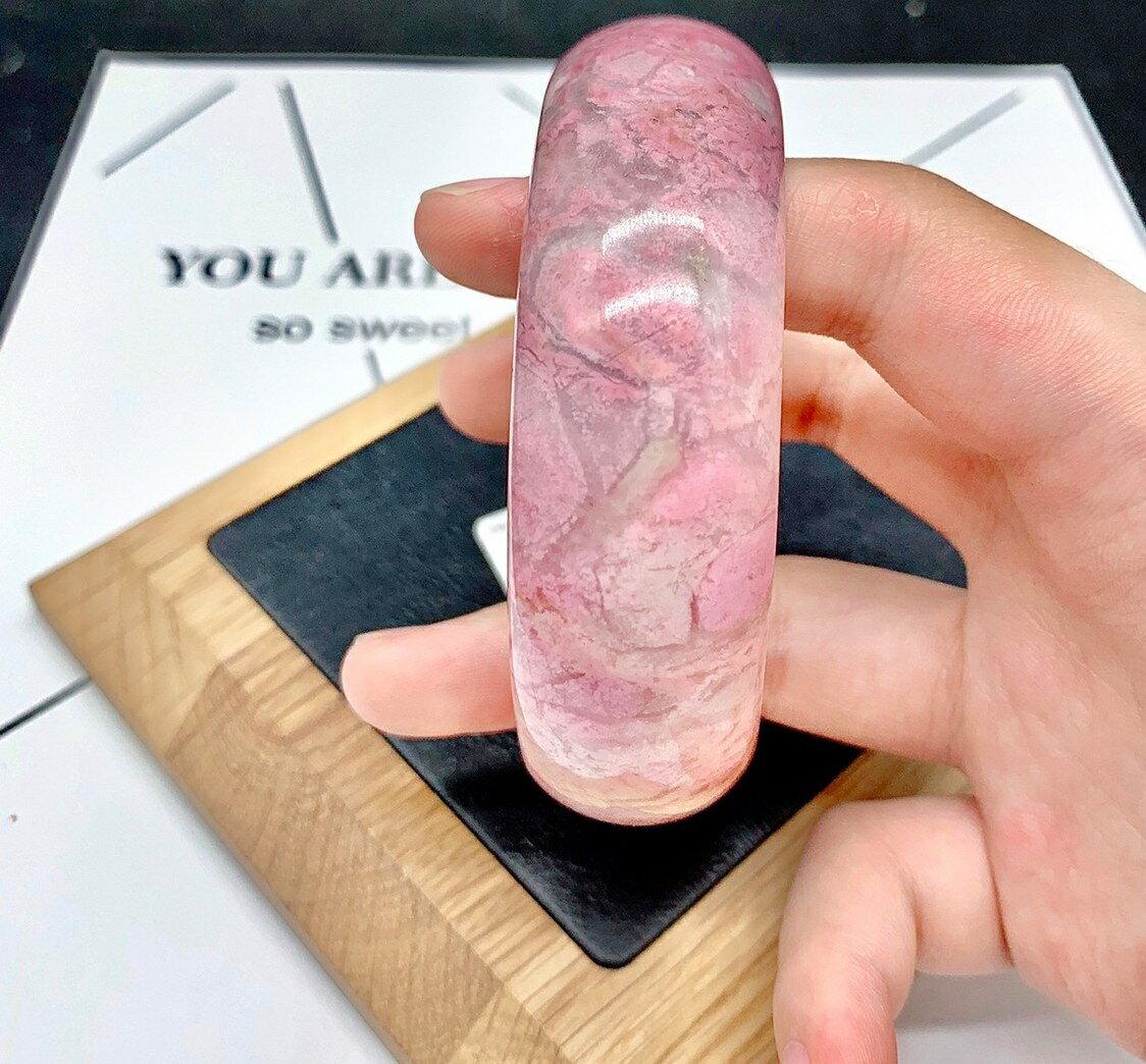 超取499免運|Tai Fu ◆  薔薇石手鐲|水晶|冷靜|清晰|高貴情操|擴闊心胸|助轉運|建立自我價值觀|天然水晶