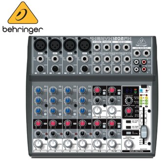 【非凡樂器】德國大廠耳朵牌百靈達 Behringer XENYX 1202FX/12軌混音器(有效果器)/公司貨保固