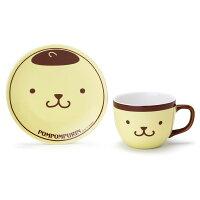 布丁狗周邊商品推薦到【真愛日本】4901610790366  日本製造型咖啡杯附盤-PN+ABD 三麗鷗家族 布丁狗 茶壺 下午茶