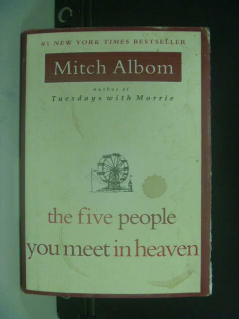 ~書寶 書T8/原文小說_HIX~The Five People You Meet in