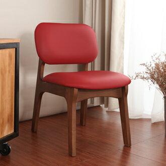 【迪瓦諾】布萊恩 栓木實木椅  /  紅(30種顏色)  /  可訂色 / 台灣製 / 餐椅 / 免運費 - 限時優惠好康折扣