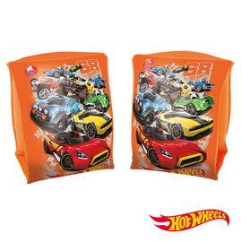 《Bestway》Hot Wheels。風火輪汽車9吋x6吋充氣手臂圈-(69-34366)