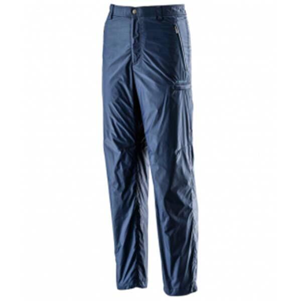 《台南悠活運動家》Wildland 0A22332-72 鬆緊帶輕量防風保暖長褲 (深藍)