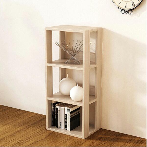 組合櫃D款收納櫃書櫃書架展示置物櫃床頭櫃【YV9719】HappyLife