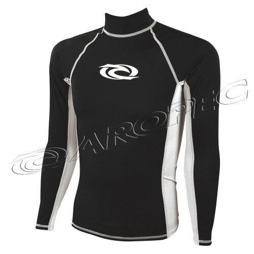 【【蘋果戶外】】AROPECSS-58-2M-BK(黑白)百分百台灣製品質保證專業四針剪裁抗UV設計款男款長袖萊克衣