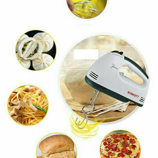 烘焙具匠 110V特制台灣用電壓手提式電動打蛋器攪拌機 7速多功能烘培攪拌器180W大功率附兩組攪拌棒