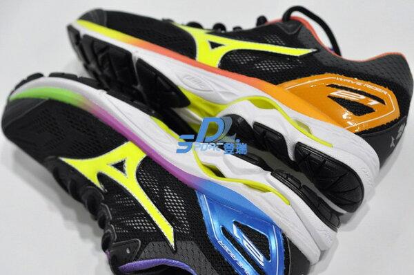 【登瑞體育】MIZUNO男款慢跑鞋RIDER21_J1GC180844