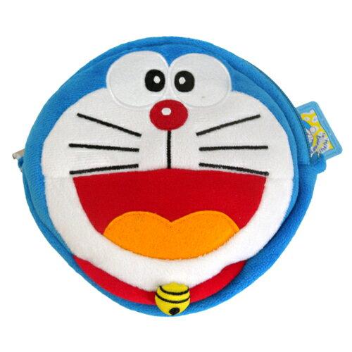 【真愛日本】15090400021圓側背包-叮噹臉 Doraemon 哆啦A夢 小叮噹 側背包 萬用包 小叮噹