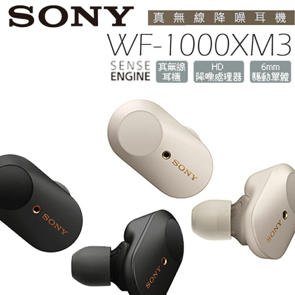 SONY WF-1000XM3 真無線藍芽耳機 公司貨 特賣 【20200209止贈矽膠保護殼x1(顏色隨機)】 0