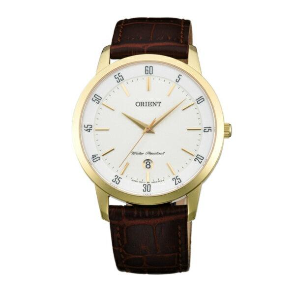 Orient 東方錶(FUNG5002W)中性時尚腕錶/白面39mm