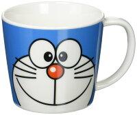 小叮噹週邊商品推薦X射線【C009227】哆啦A夢Doraemon 大臉馬克杯280ml,水杯/馬克杯/杯瓶/茶具/生活用品/玻璃杯/不鏽鋼杯