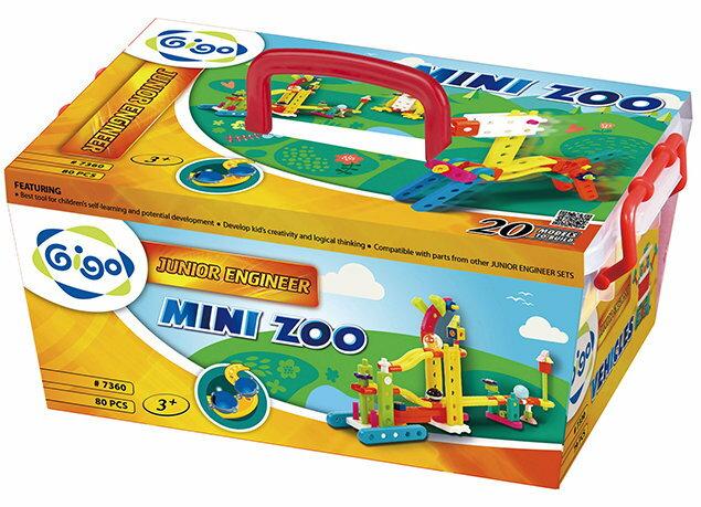 Gigo智高 - 小小工程師系列 - 迷你動物園 #7360 贈Gigo瓢蟲禮盒! 0