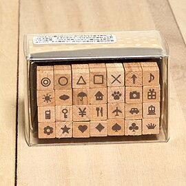 「Kodomo小孩牌」筆記本小字體印章-常用符號「缺貨待補貨」