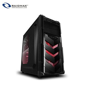 【迪特軍3C】Raidmax 雷德曼  電腦機殼 VORTEX V4 電腦機殼 紅色 電競支援390mmVGA顯示卡 下置電源