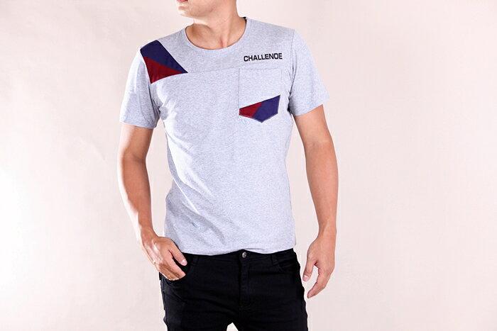【CS衣舖 】韓系 合身版 萊卡彈力 短袖T恤 3107 1