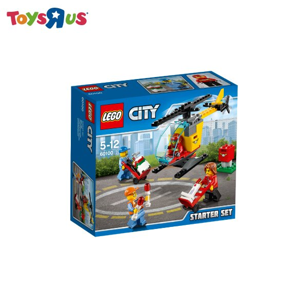 玩具反斗城 樂高 LEGO 機場基礎 ~60100^~^~^~
