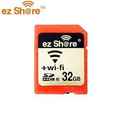 又敗家@易享派ezShare無線wi-fi SD記憶卡32G wifi熱點SDHC卡32GB(Class10,分享照片google+FB臉書facebook)ES100適Pentax K-30 K30 K-01 K01 Q 645D K-3 K3 K-5 II IIs K5 K-7 K7 K-R KR K-X K-M K20D K200D K100D Super k110d *ist DS DL