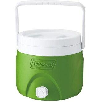 Coleman 置物型飲料桶/冰桶/冷飲桶/可堆疊 CM-1364J綠 7.6L/台北山水