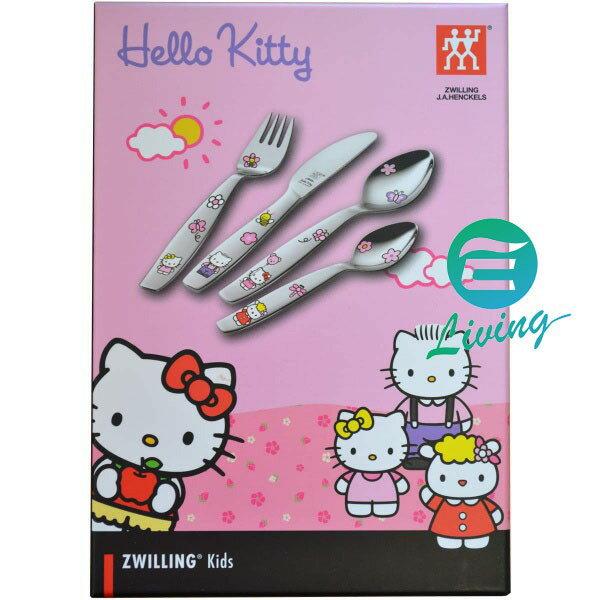 Zwilling Hello Kitty 雙人牌 兒童餐具 刀叉湯匙組4入 #07133-210
