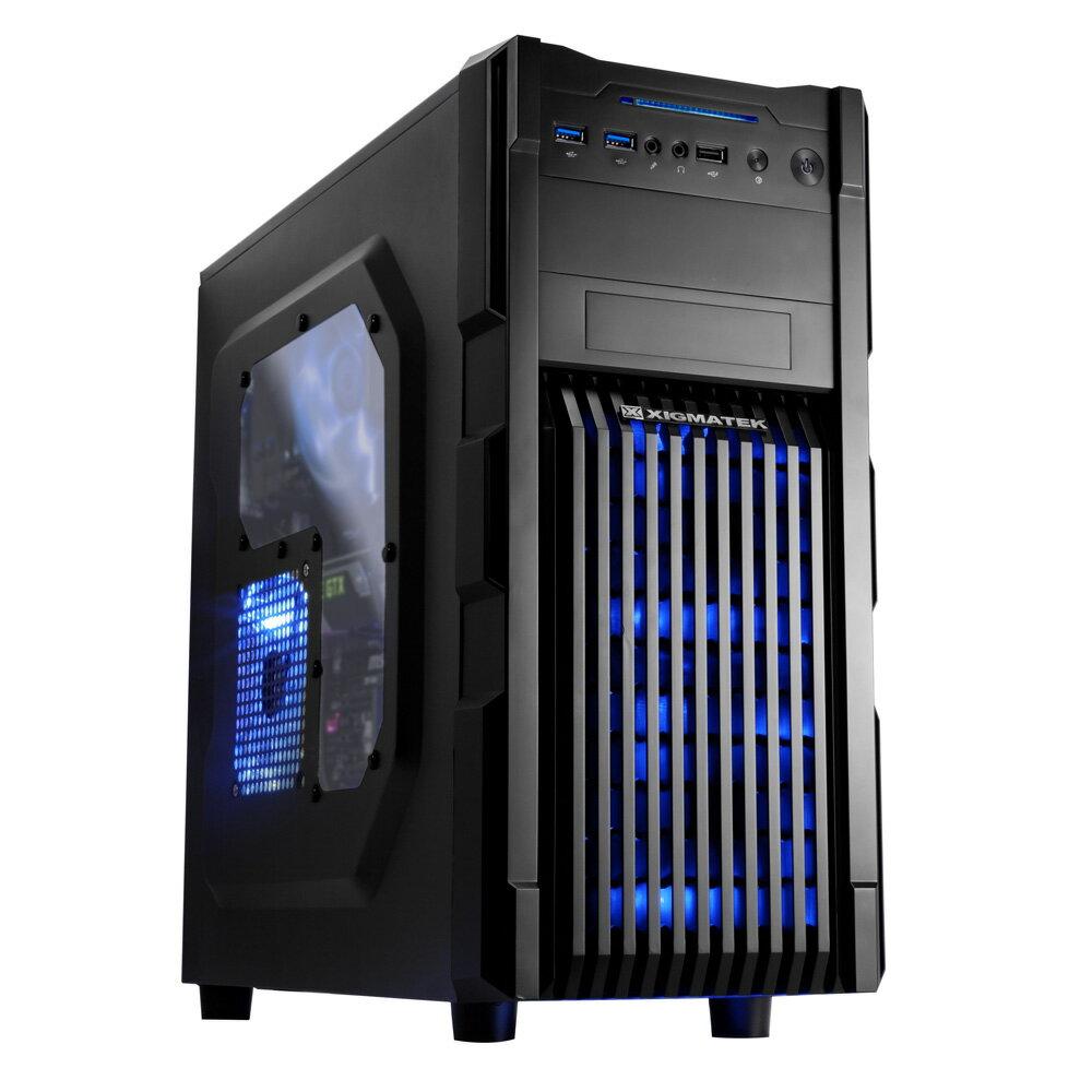 Xigmatek Vanguard plus 電腦機殼 黑色