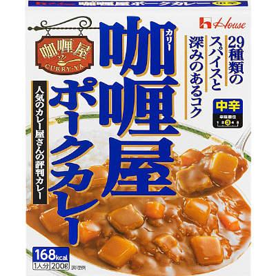 House咖喱屋即食料理包-中辛豬肉 方便料理包 1人份 200g