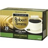 同事分享 【Rober Timms】澳洲第一品牌 濾袋咖啡 - 義式濃縮 28袋/盒 送禮