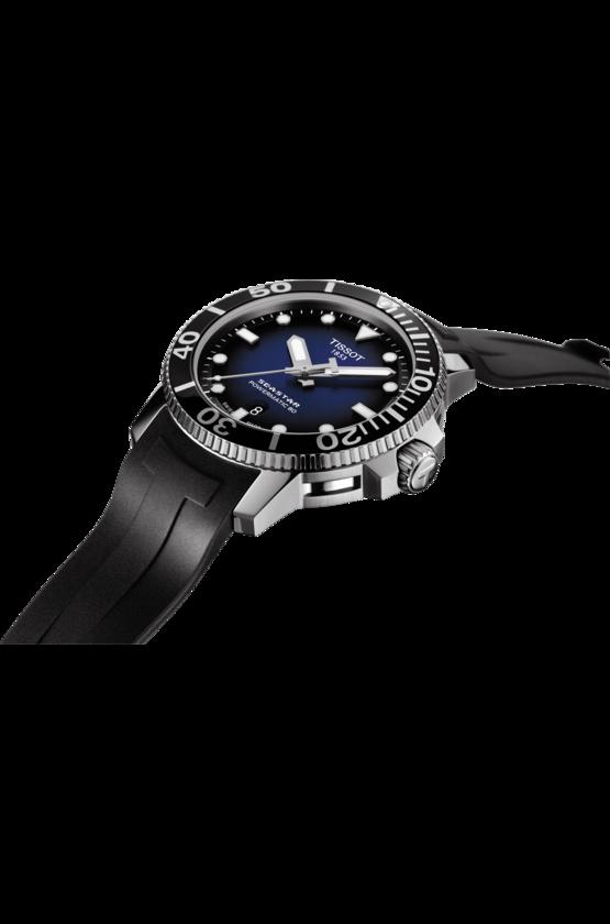 TISSOT 天梭 T1204071704100 Seastar 1000 陶瓷圈 海洋之星300米潛水機械錶 黑 藍 43mm【8 / 15前↘領券再9折,優惠券碼: 2008CP2000B 】 4