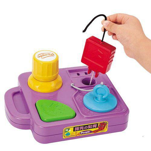麗嬰兒童玩具館~日本People專櫃安全玩具-手指靈活訓練玩具-公司貨 2
