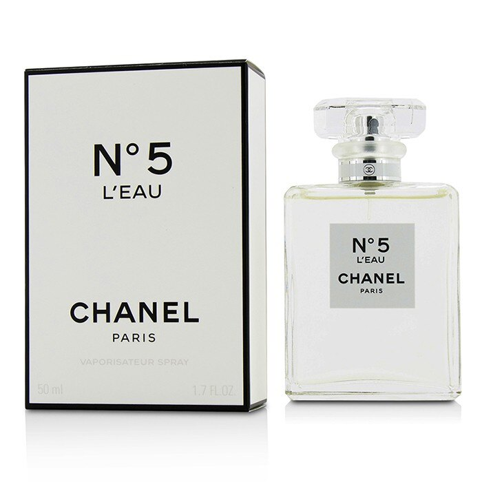 Chanel 香奈兒 No.5 L\'Eau女性淡香水No.5 L\'Eau Eau De Toilette Spray  50ml/1.7oz