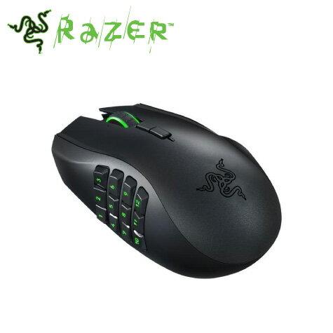 雷蛇Razer Naga Chroma 那迦梵蛇幻彩版 有線雷射電競滑鼠/16000dpi/MMO/RGB (RZ01-01610100)