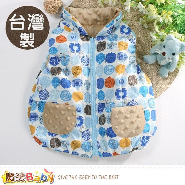 嬰幼兒外套 台灣製秋冬保暖鋪棉背心外套 魔法Baby~b0213